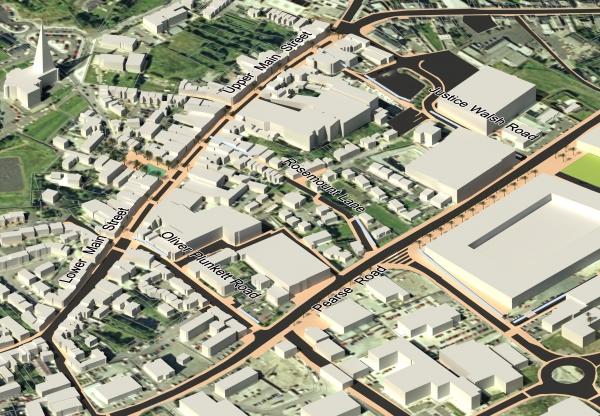 Town Centre 3D Map