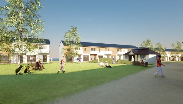 Courtyard & Tee house